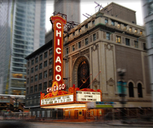 building, chicago, and city image