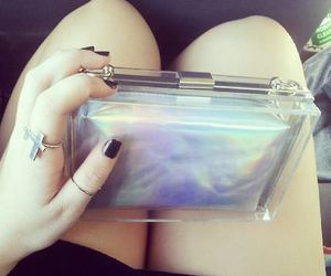 clutch, fashion, and nails image