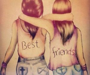 best friends and alinaaaaaa♡ image