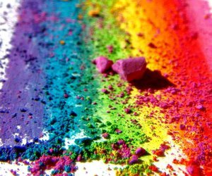 rainbow, colors, and blue image