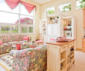 room, pink, and photography image