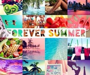 summer, forever, and beach image