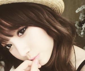 asian girl, eyes, and beautiful image