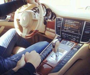 car, love, and couple image
