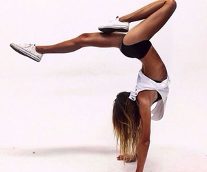 girl, fitness, and fit image