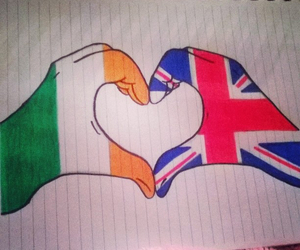 draw, ireland, and one direction image