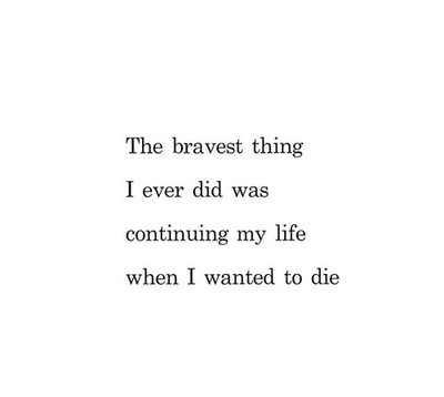 quote, brave, and life image