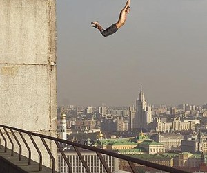 liberdade, bungee jumping, and parkour image