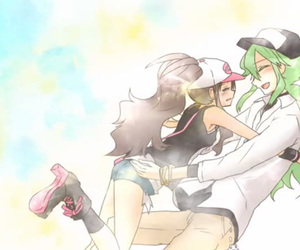 n, harmonia, and ferriswheelshipping image
