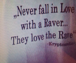 love, rave, and fall in love image