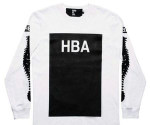 black and white, fashion, and hba image