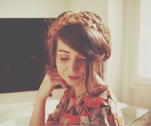 zoella, braid, and youtuber image