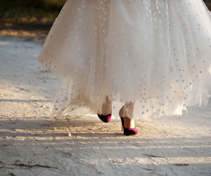beautiful, red, and shoes image