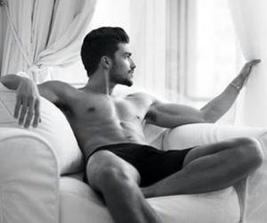 hot man, man, and model image