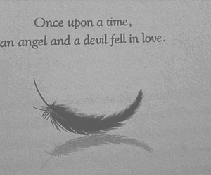 angel, Devil, and love image