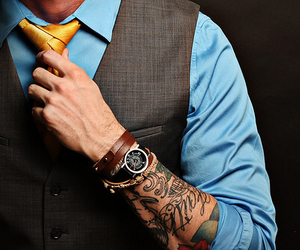 tattoo, man, and style image