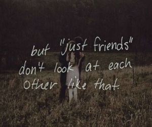 love, quote, and friends image