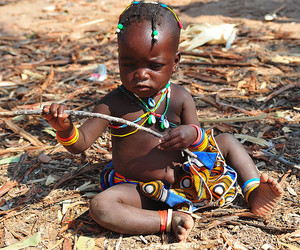 africa, black, and child image