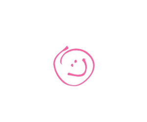 happy, pink, and smile image