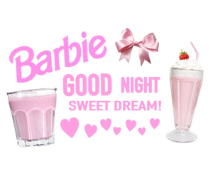 pink, cute, and barbie image