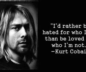 quote, kurt cobain, and nirvana image