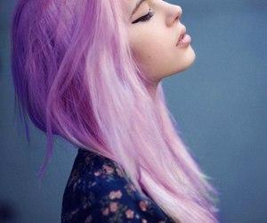 beatiful, emo, and hair image