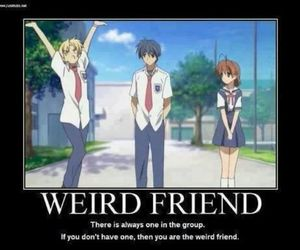 anime, clannad, and funny image