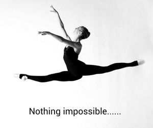 dance, flexible, and leap image