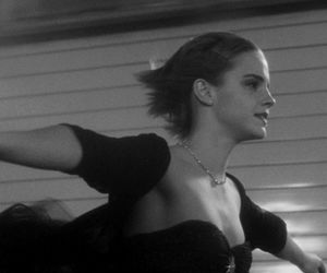 emma watson, infinite, and black and white image