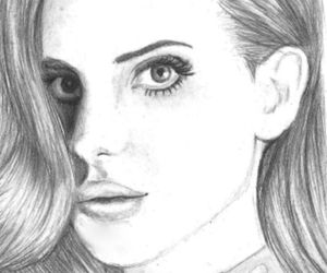lana del rey draw drawing image