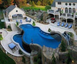 luxury and swimming pool image
