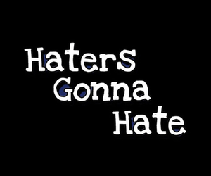 haters, hate, and quotes image