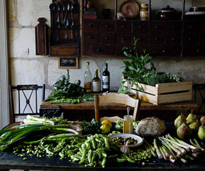 kitchen and vegetables image