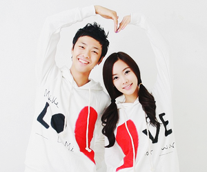 love, couple, and cute image