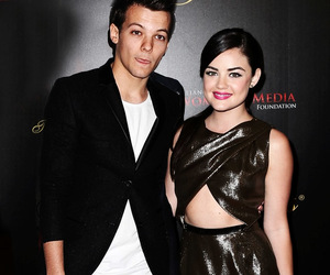 lucy hale and louis tomlinson image