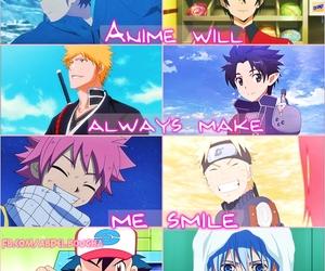 anime, bleach, and naruto image