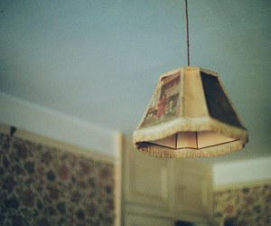 floral, interior, and lamp image