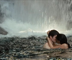 breaking dawn, couple, and kiss image