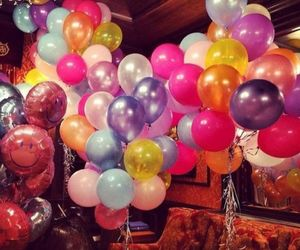 balloons and the image