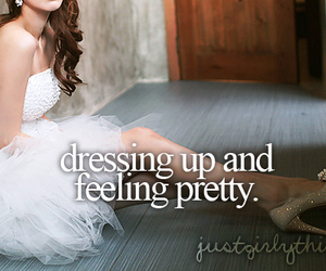 dress, pretty, and quote image