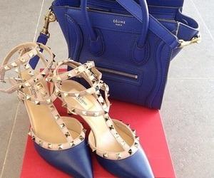 Valentino, bag, and blue image