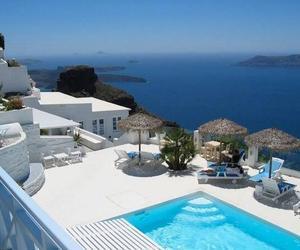 luxury, paradise, and sea image