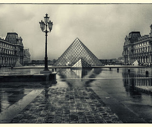 europe, louvre, and paris image