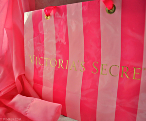 Victoria's Secret, pink, and bag image