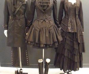 lolita, goth, and steampunk image