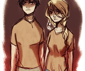 percy, hoo, and annabeth image