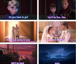 frozen, ariel, and the little mermaid image
