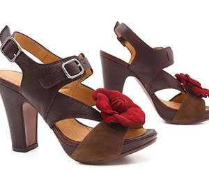 amor, brown, and shoes image