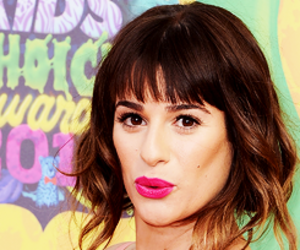 glee, perfect, and lea michele image