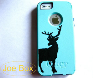 deer, iphone cover, and iphone case image